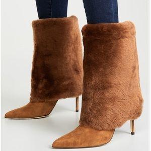 Alexandre Birman Eskimo 85 Suede Knee Boots Sz 6.5